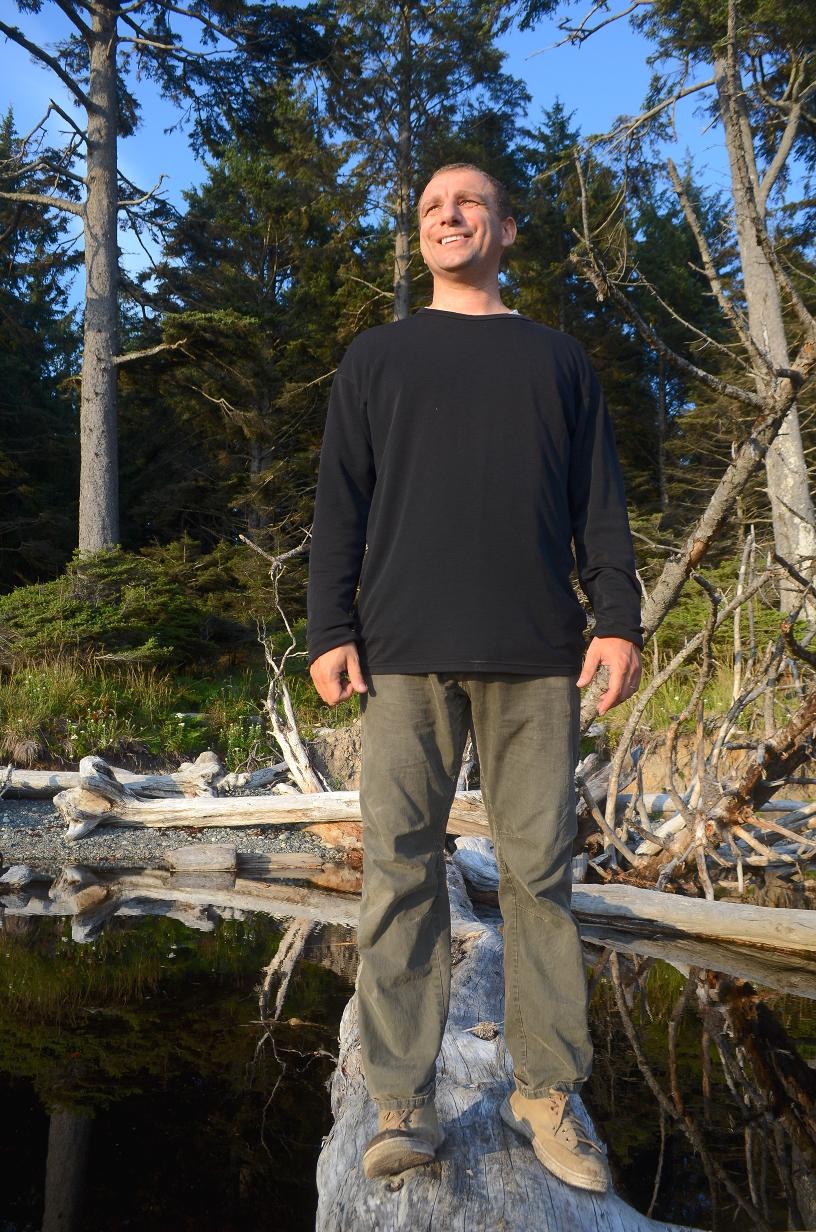 15 Alex wading across Cedar Creek.JPG