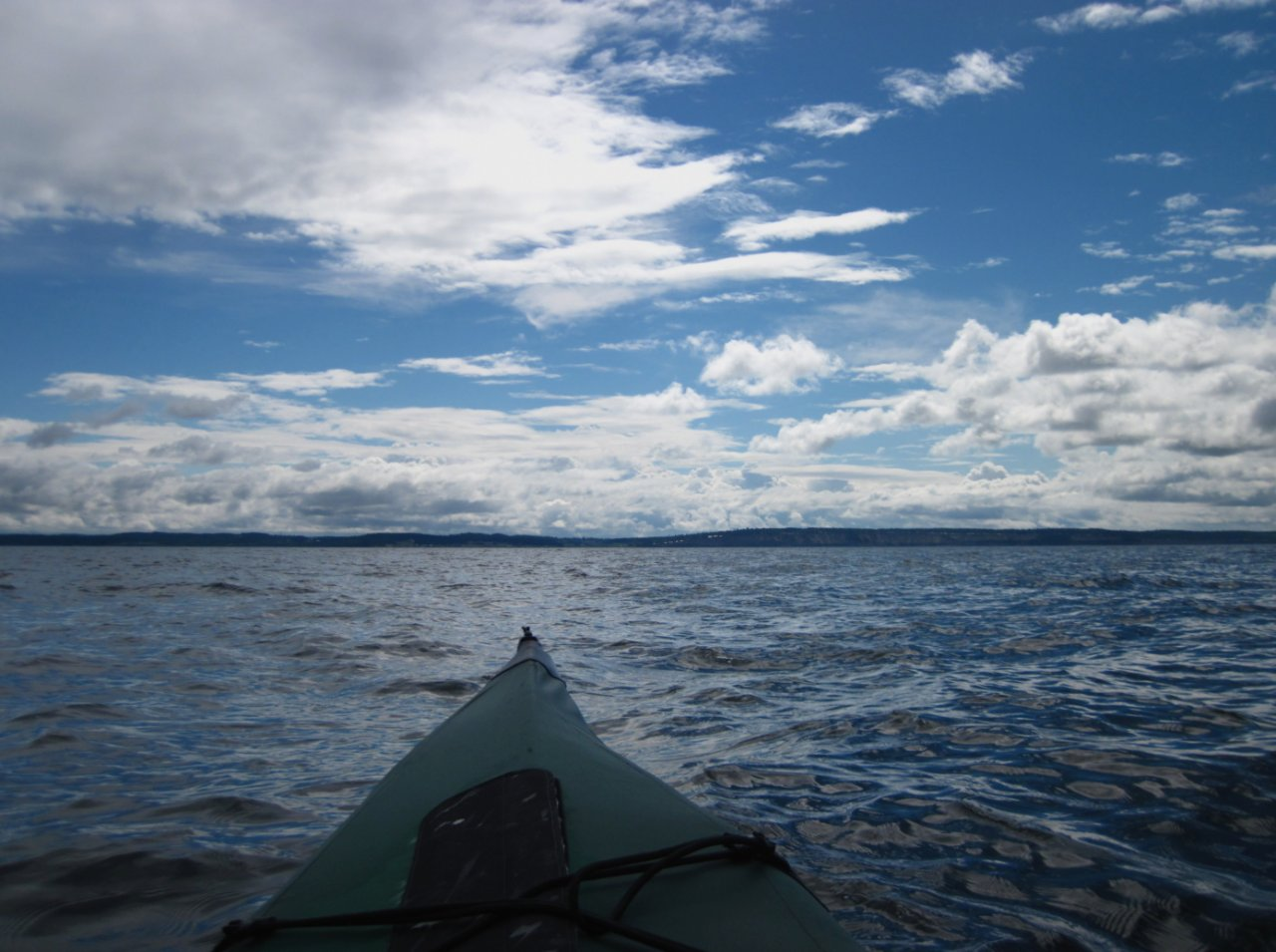 22 Paddling back to Whidbey Island.JPG