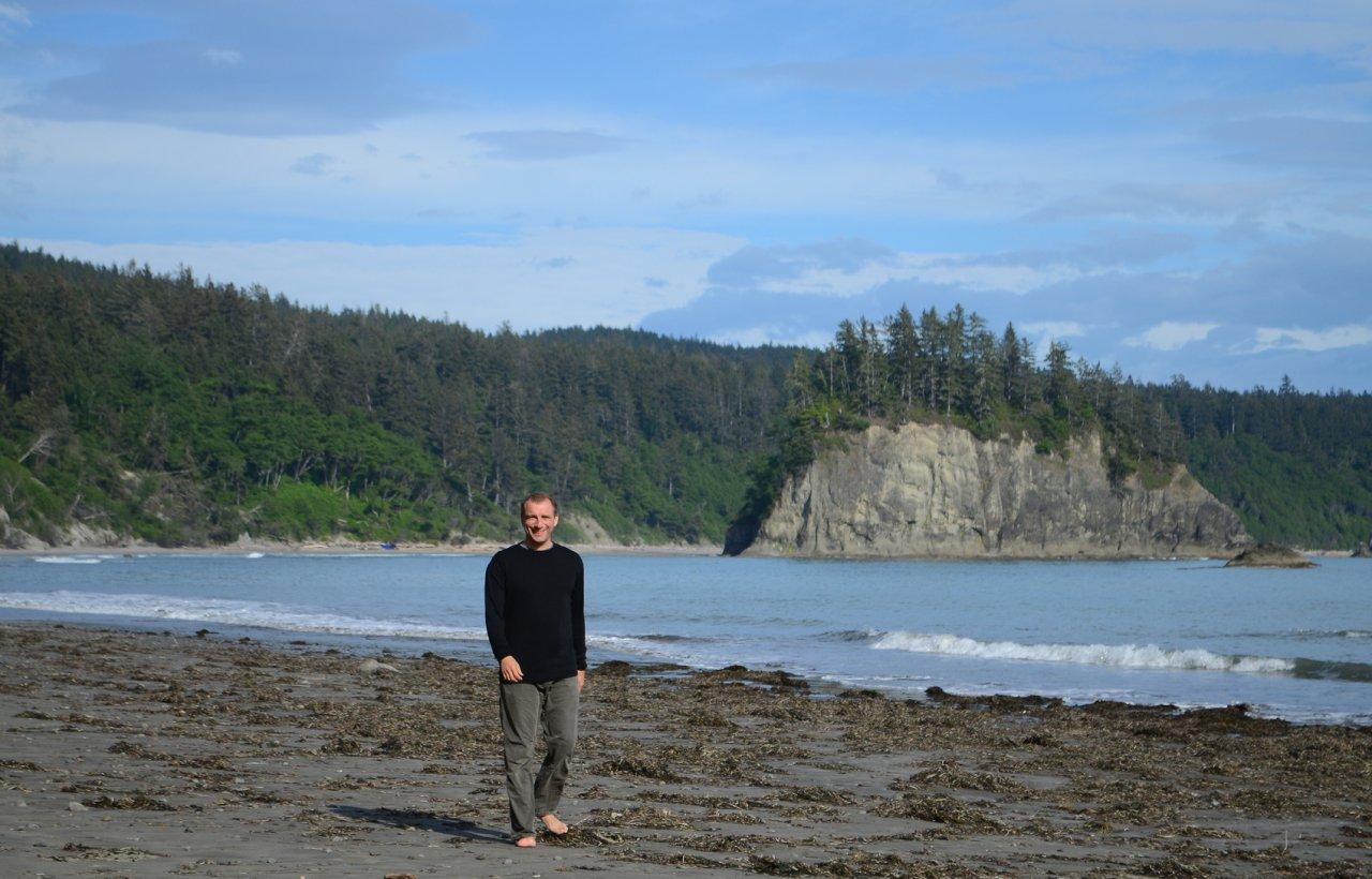 23 Alex on Goodman Creek beach.JPG