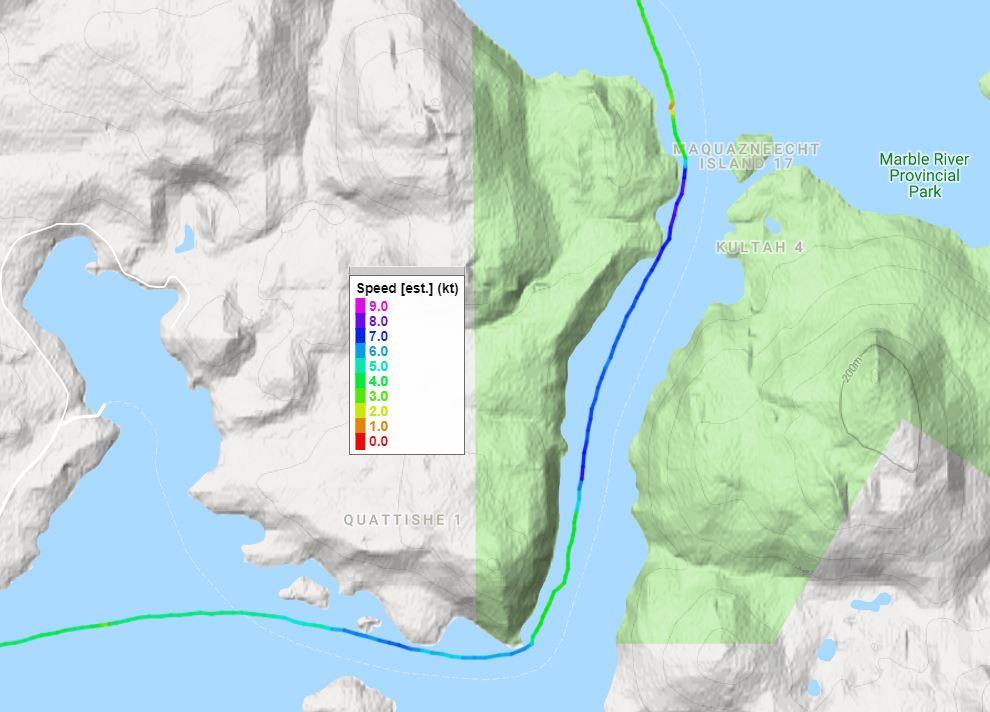 Track Aug 11 Quatsino Flood 1.5 hrs after max.JPG